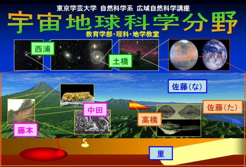 宇宙地球科学分野トップページ[J...